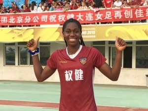 Asisat Oshoala Slams Haters, Shows Off Her Shoe Closet And New Iphone